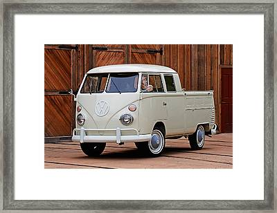 Double Cab Framed Print