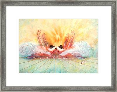 Double Dance Framed Print by John YATO