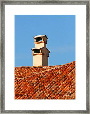 Double Decker Framed Print