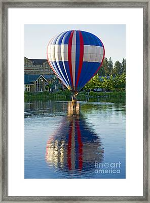 Framed Print featuring the photograph Double Dipping by Nick  Boren