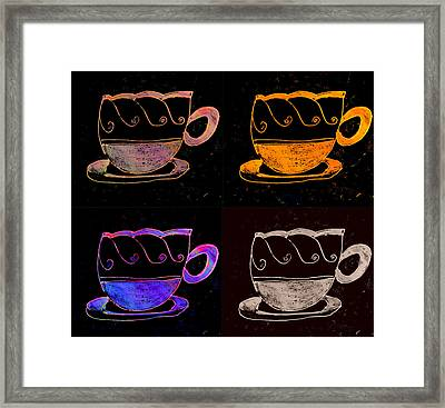 Double Double Vision Framed Print