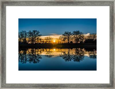 Double Down Framed Print by Randy Scherkenbach