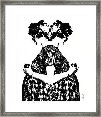 Double Entendre Framed Print