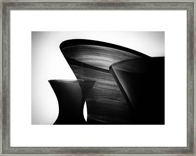 Double Exposure Two Framed Print