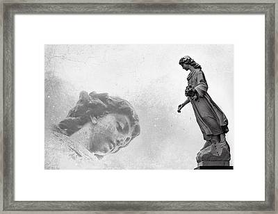 Double Exsposure Framed Print