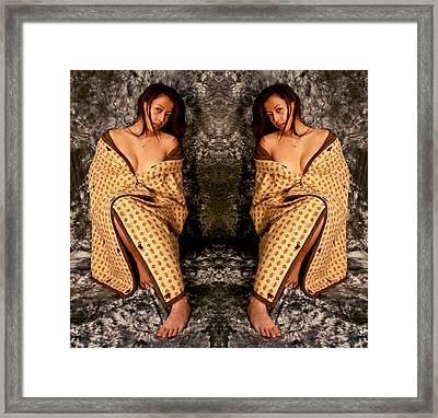 Double Figured 2012 Framed Print by James Warren