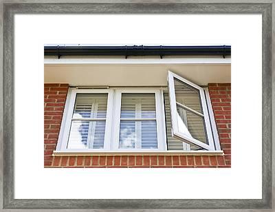Double Glazed Window Framed Print
