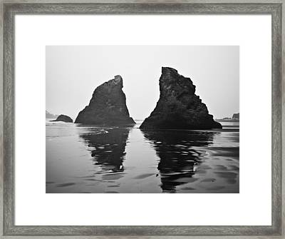 Double Framed Print by Kjirsten Collier