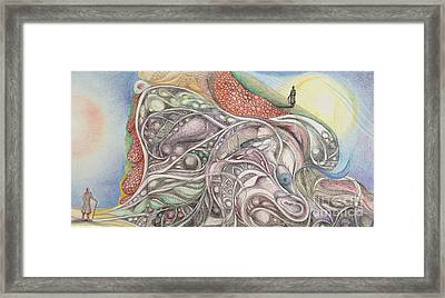 Double Life Framed Print