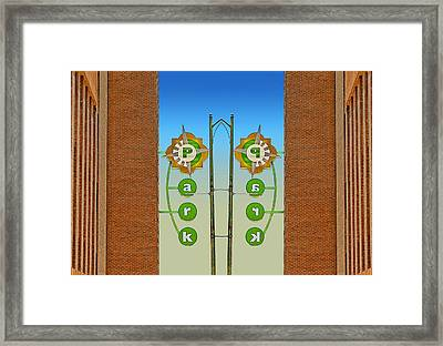 Double Parked Framed Print by Wendy J St Christopher