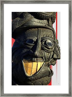 Double-ply Wheeler Dealer Framed Print by Lorenzo Williams