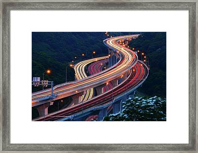 Double S Framed Print by Kecl