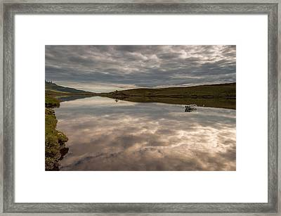 Double Sky Framed Print