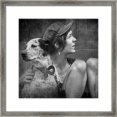 Double Take Framed Print by Dorothy Walker