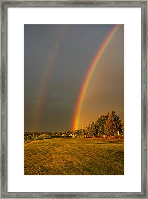Double The Money Framed Print