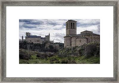 Double The View Framed Print by Joan Carroll