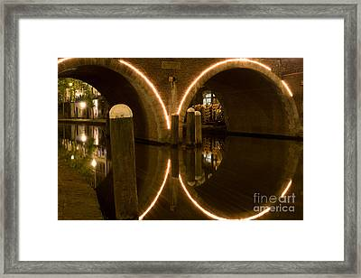 Double Tunnel Framed Print