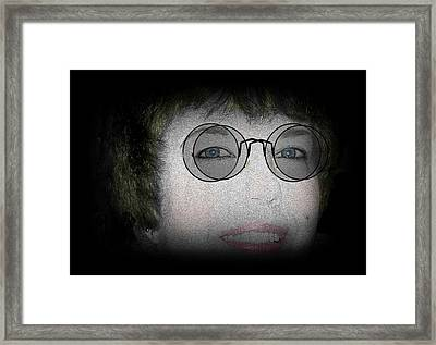 Double Vision Framed Print by Barbara S Nickerson