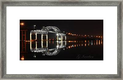 Double Vision Framed Print by Gregory Israelson