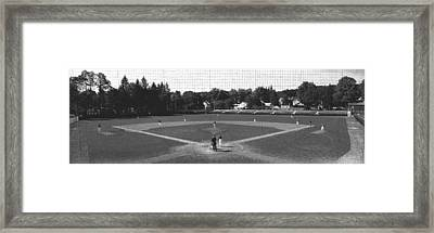 Doubleday Field Cooperstown Ny Framed Print