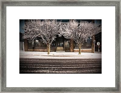 Doubletree Framed Print by Scott Moore