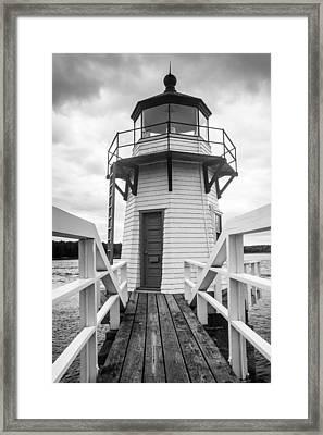 Doubling Point Light Framed Print