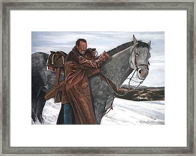 Doug Barton Framed Print by Artist Karen Barton