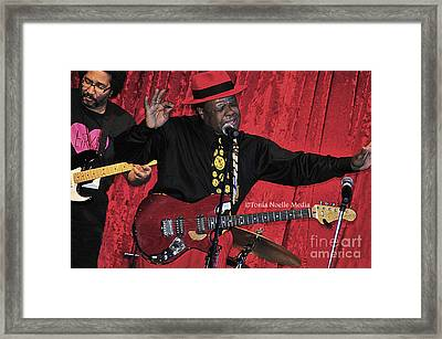 Doug Lewis And Norman Sylvester Framed Print