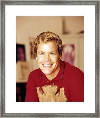 Doug Mcclure Framed Print