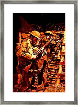 Doughboys  Framed Print by Tommy Anderson