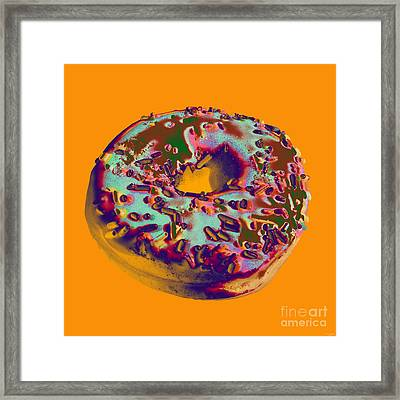 Doughnut Framed Print