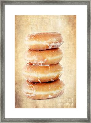Doughnuts Framed Print by Darren Fisher