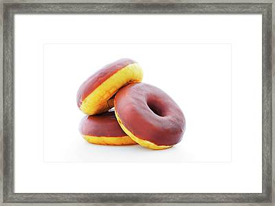 Doughnuts Framed Print