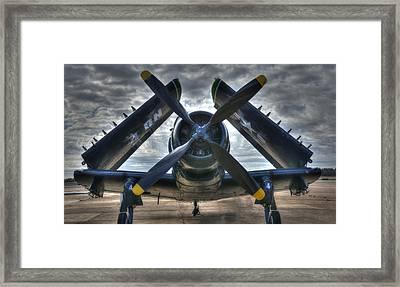 Douglas A1- E Skyraider Framed Print