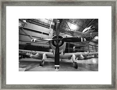 Douglas A1 Skyraider Framed Print by Dan Sproul