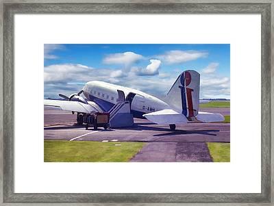 Douglas Dakota Dc3 Framed Print by Paul Gulliver