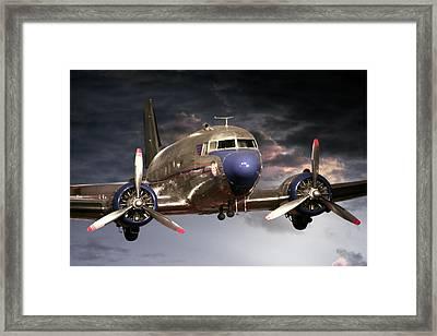 Douglas Dc 3 Framed Print