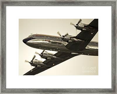 Douglas Dc-6 Framed Print