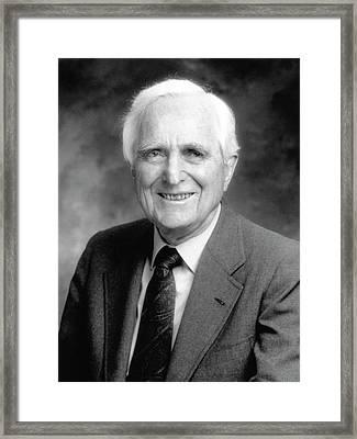Douglas Engelbart Framed Print