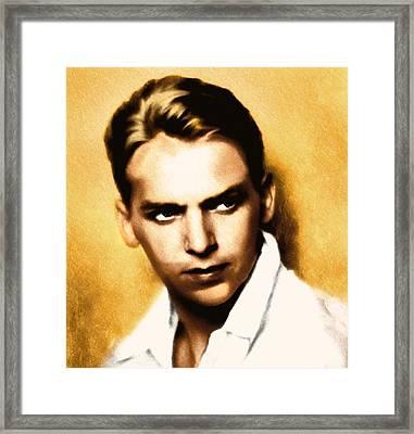 Douglas Fairbanks Jr Framed Print