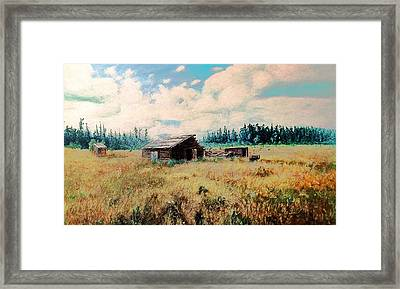 Douglas Lake Ranch  Framed Print