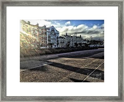 Douglas Sunset Framed Print