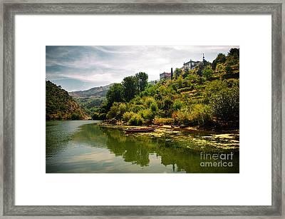 Douro Landscape I Framed Print by Carlos Caetano