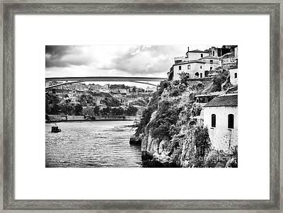 Douro River Landscape Framed Print