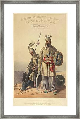 Dourraunnee Chieftains Framed Print by British Library