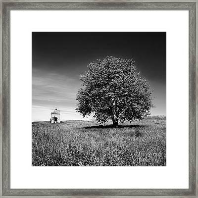 Dovecote. Auvergne. France Framed Print