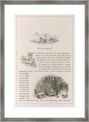 Dovecote Framed Print