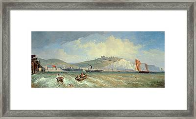 Dover, 19th Century Framed Print by William Henry Prior