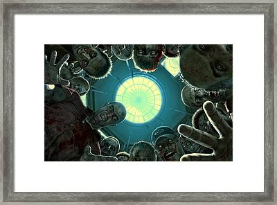 Down And Out In Zombie Land Framed Print by Movie Poster Prints