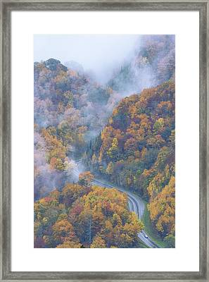 Down Below Framed Print by Chad Dutson